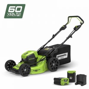 Greenworks Self-propelled Cordless Lawn Mower
