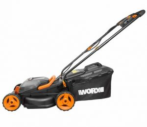 1. WORX WG779E.2 36V Cordless Lawn Mower for  Small Garden