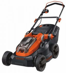 10.. BLACK+DECKER Lithium-Ion Lawn Mower