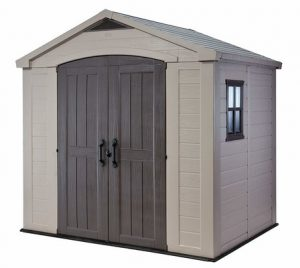 12_keter_factor_outdoor_plastic_garden_storage_shed_beige_8_x_6_ft