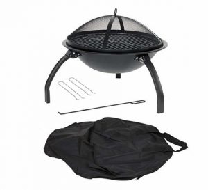 20_la_hacienda_58106_camping_firebowl_with_grill_folding_legs_and_carry_bag