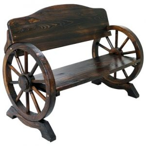 25_solid_wood_cart_wagon_wheel_garden_bench