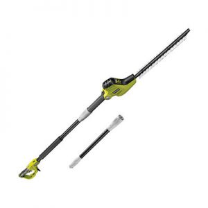 4. Ryobi RPT4545M Pole Hedge Trimmer with Extension Pole