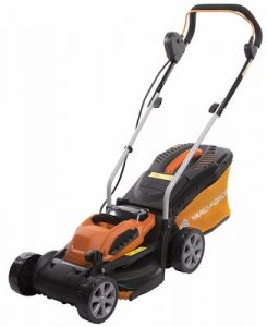 4. Yard Force 32cm Cordless Rotary Lawnmower