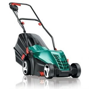6. Bosch Rotak 34R Home and Garden 0600885B70 Electric Rotary Lawnmower