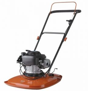7. Flymo XL500 Petrol Hover Lawn Mower Honda 160