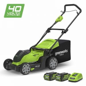 7. Greenworks 40V Cordless Lawn Mower