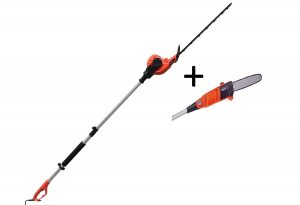 7. eSkde Electric Long Reach Telescopic Pole Chainsaw Pruner Hedge Trimmer