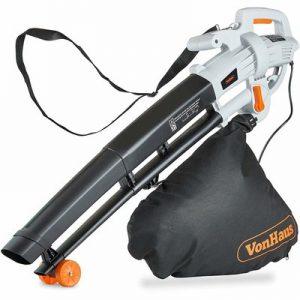 8. VonHaus 3 in 1 Leaf Blower – 3000W Garden Vacuum & Mulcher