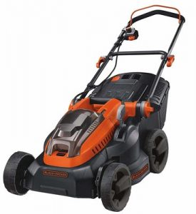 9. BLACK And DECKER 36 V Lawn Mower with Two 2 Ah Batteries