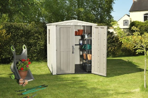 Plastic Garden Sheds in UK