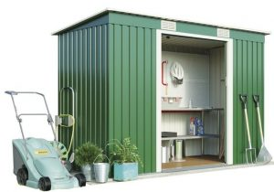 5. Metal Garden Shed Small
