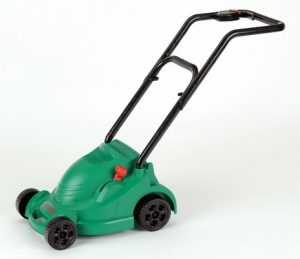 10. Toy BOSCH Rotak lawnmower