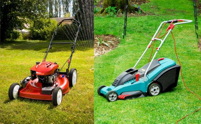 Petrol Vs. Electric Lawn Mower