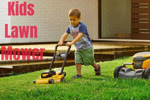 kids lawn mower