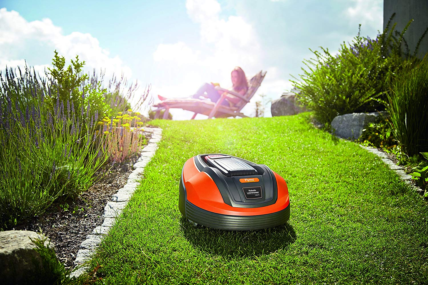automatic lawn mower uk