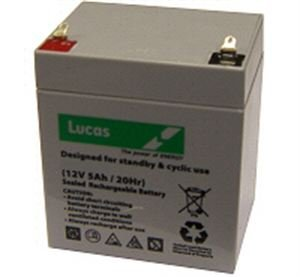 4. Lucas 12V AGMGEL Battery