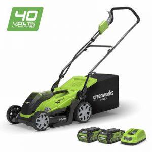 Greenworks Cordless Mulching Lawn Mower 40V