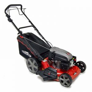 "Frisky Fox PLUS 20"" QUAD-CUT Self Propelled Mulching Mower"