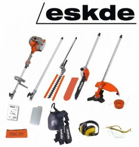 eSkde MT52-S Petrol Brushcutter Strimmer 5 in 1