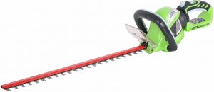 Greenworks Tools Cordless Battery Hedge Trimmer