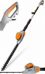 Terratek 2.75m 550W Telescopic Corded Long Reach Hedge Trimmer