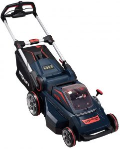 Worth Powermax 84-Volt Lithium Battery Self-Propelled Lawn Mower