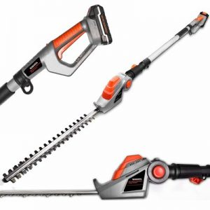 Terratek Long Reach Cordless Electric Hedge Trimmer