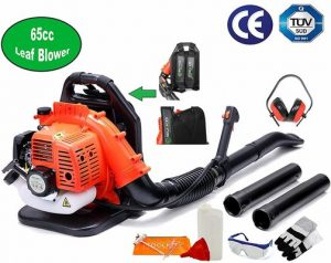 4. BU-KO 65CC Petrol Backpack Leaf Blower