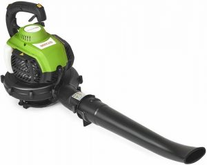 8. COSTWAY 3-in-1 Garden Petrol Leaf Blower