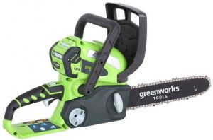 Greenworks Tools 20117UA Cordless Chain Saw