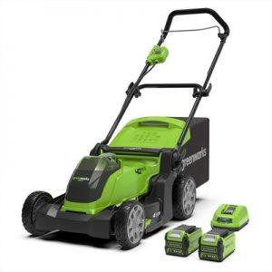 Greenworks G40LM41K2x Cordless Lawn Mower
