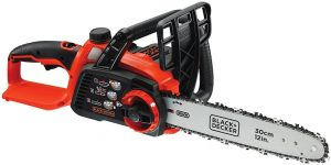 BLACK+DECKER 36 V cordless chainsaw with battery and charger