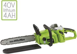Aerotek 40V X2 Cordless Chainsaw