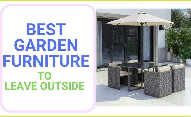 best garden furniture uk