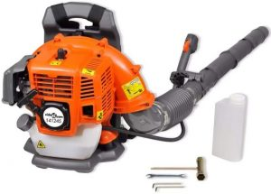VidaXL 42.7 cc 900m³/Hour Petrol Power Backpack Leaf Blower