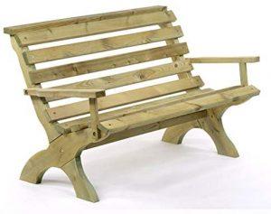 BrackenStyle Wooden Garden Bench