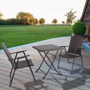 Bigzzia Rattan Garden Furniture Set