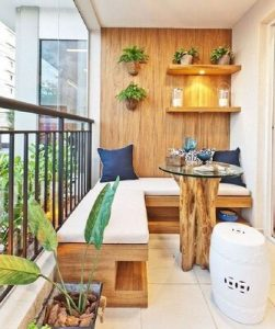 Designing a small balcony