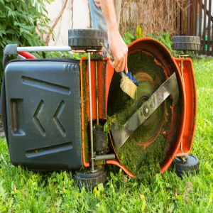 Maintaining A Push Mower