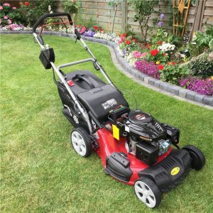 Petrol rotary lawnmowers