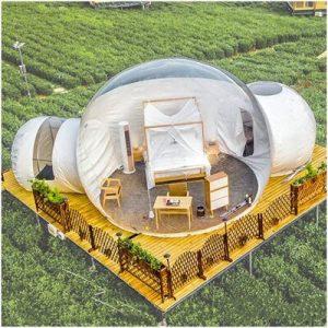 ZYJFP Transparent Inflatable Bubble Tent