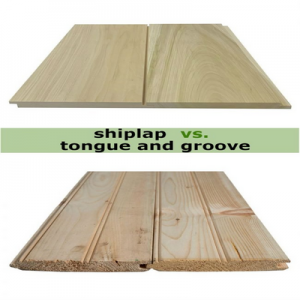 tongue & groove shiplap