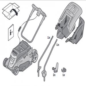 Assembly of Bosch Rotak 430 LI