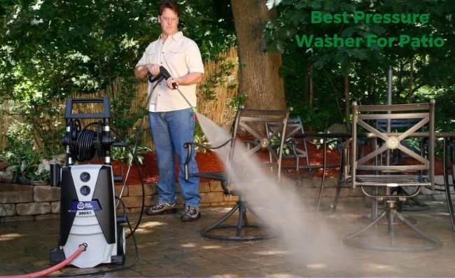best pressure washer for patio