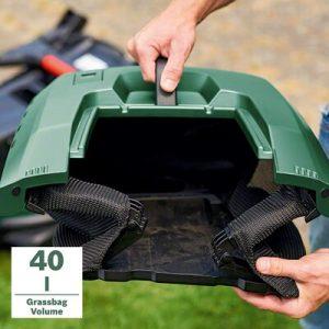 grass box of Bosch Rotak 430 LI
