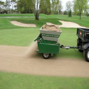 Application of Lawn Sand
