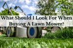 What Should I Look For When Buying A Lawn Mower_