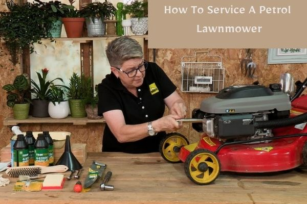 How To Service A Petrol Lawnmower