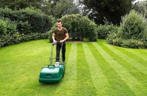 A Self Propelled Lawn Mower